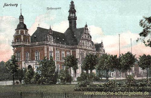 Harburg, Rathausplatz