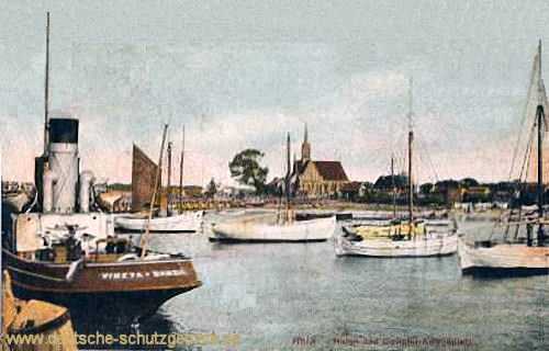 Hela, Hafen mit Molen