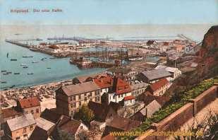 Helgoland, Der neue Hafen