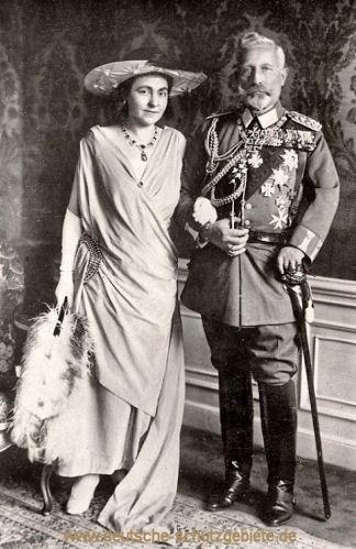 Hermine und Wilhelm II. von Preußen