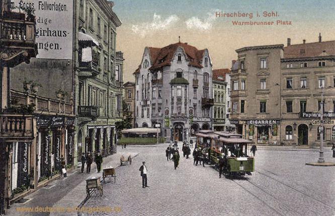 Hirschberg in Schlesien, Warmbrunner Platz