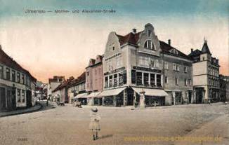 Ilmenau, Moltke- und Alexanderstraße