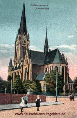Kaiserslautern, Marienkirche