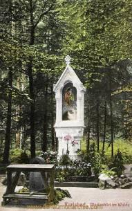 Karlsbad, Marienbild im Walde