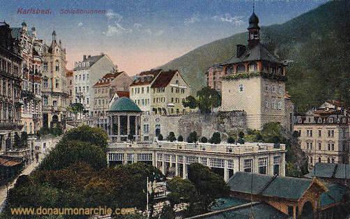 Karlsbad, Schlossbrunnen