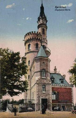Karlsbad, Stephanie-Warte
