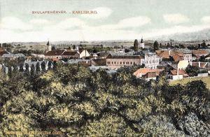 Karlsburg (Gyulafehérvár), Ansicht