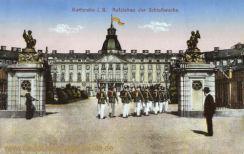 Karlsruhe i. B., Aufziehen der Schloßwache