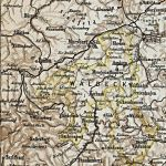 Fürstentum Waldeck, Karte 1905