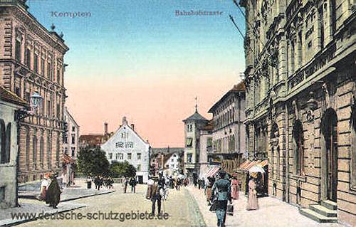 Kempten, Bahnhofstraße