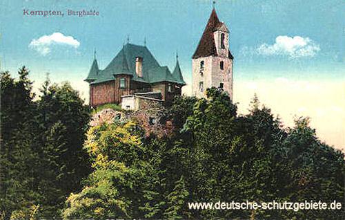 Kempten, Burghalde