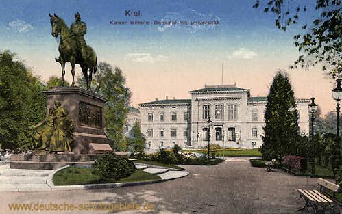 Kiel, Kaiser Wilhelm-Denkmal Universität