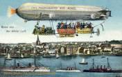 Kiel, Zeppelin Linie Friedrichshafen-Kiel-Memel