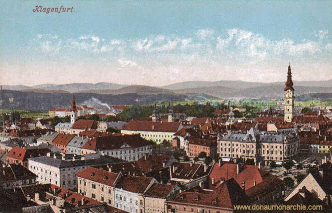 Klagenfurt, Stadtansicht