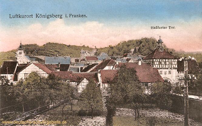 Königsberg in Franken, Haßfurter Tor