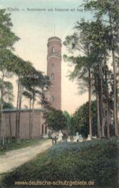 Köslin, Aussichtsturm und Restaurant auf dem Gollen