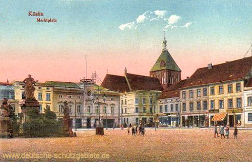 Köslin, Marktplatz