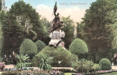 Kolberg, Krieger-Denkmal