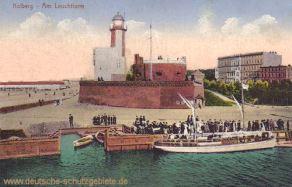 Kolberg am Leuchtturm