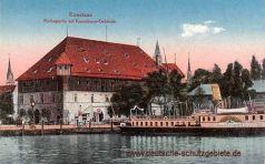 Konstanz, Hafenpartie mit Konziliums-Gebäude