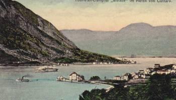Kotor - Cattaro, Touristendampfer Meteor im Hafen