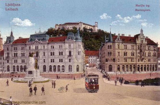 Laibach, Marienplatz