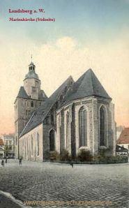 Landsberg a. W., Marienkirche