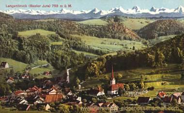 Langenbruck (Basler Jura) 750 m. ü. M.