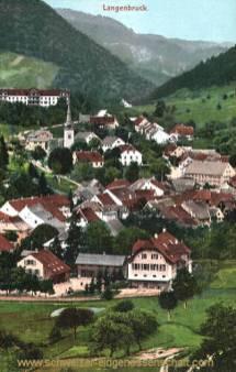 Langenbruck (Basler Jura) 750 m. ü. M