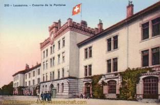 Lausanne, Caserne de la Pontaise