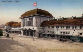 Lausanne, La gare