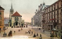 Lausanne, Place et Eglise St-Francois