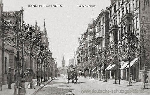 Linden, Falkenstraße
