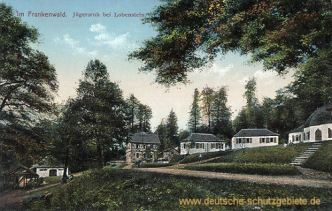 Im Frankenwald - Jägersruh bei Lobenstein