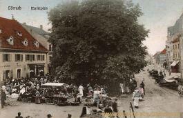 Lörrach, Marktplatz