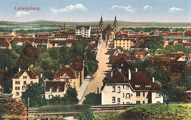 Ludwigsburg, Ansicht