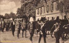 Ludwigsburg, Beisetzung des ehemaligen Königs von Württemberg 1921