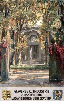 Ludwigsburg, Gewerbe und Industrie Ausstellung 1914