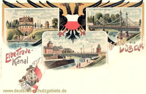 Lübeck, Elbe-Trave-Kanal