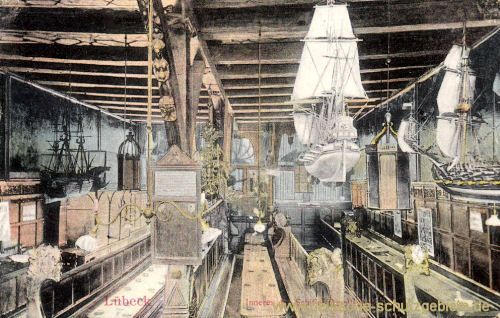 Lübeck, Inneres der Schiffergesellschaft