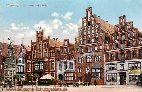 Lüneburg, Alte Giebel am Sande