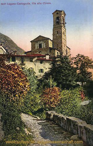 Lugano-Castagnola, Via alla Chiesa