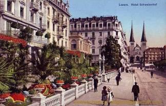 Luzern, Hotel Schweizerhof