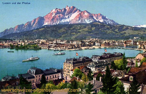 Luzern und der Pilatus