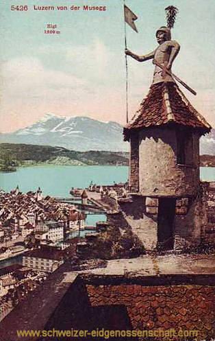 Luzern von der Musegg