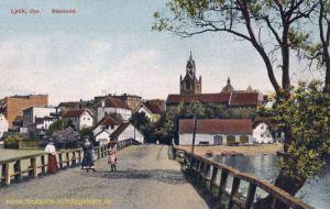 Lyck, Stadtbild
