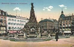 Mannheim, Denkmal am Paradeplatz