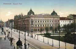 Mannheim, Kaiserliche Post
