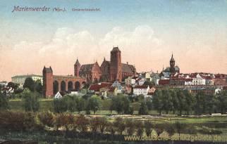 Marienwerder (Wpr.), Gesamtansicht