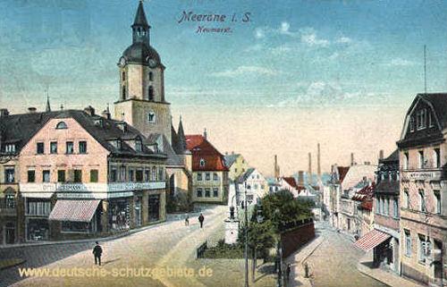 Meerane i. S., Neumarkt